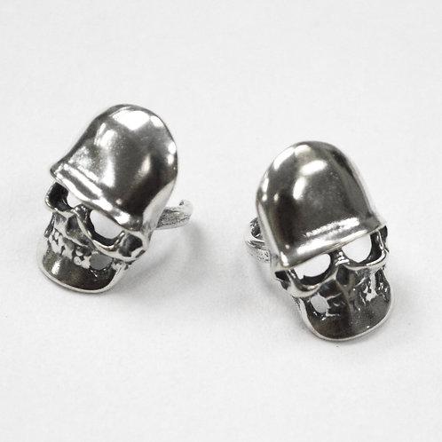 Skull Head Earcuff Sterling Silver 545124