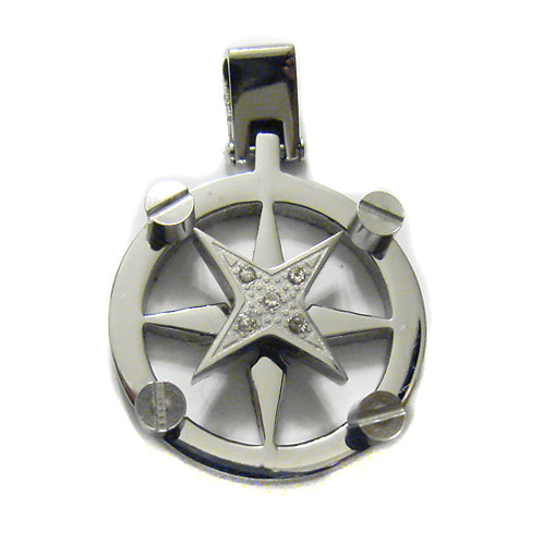 Compass Pendant (23mm)