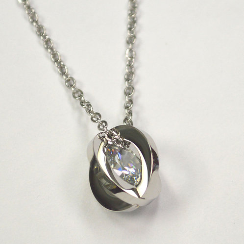 Orbit with Crystal Necklace 890-1019
