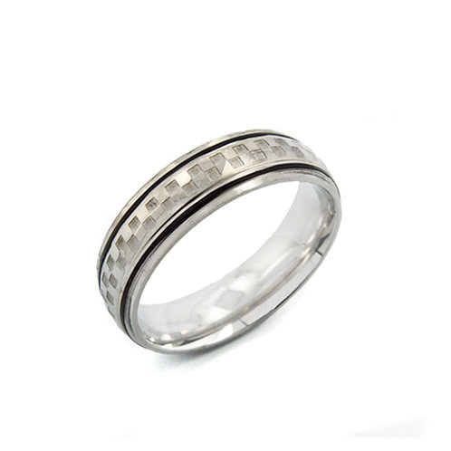 STAINLESS STEEL RING (6mm) 81-366-6