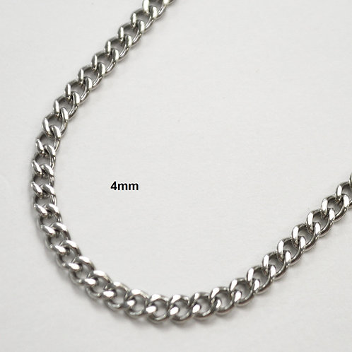 4m Cuban Stainless Steel