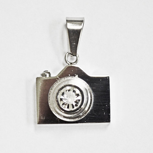Camera Pendant Stainless Steel 86-1248S