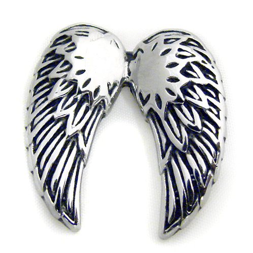 Wing Pendant Stainless Steel (26x27mm)