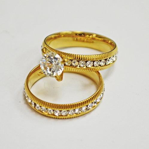 WEDDING SET RING (5x7mm) 81-1300G