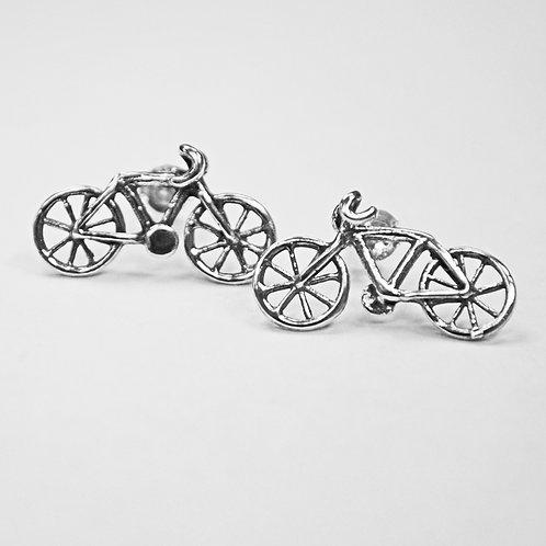Bicycle Stud Earring