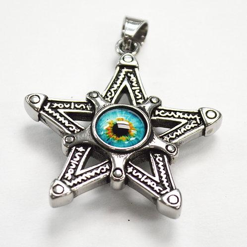 Star with Eyeball Pendant 86-2260