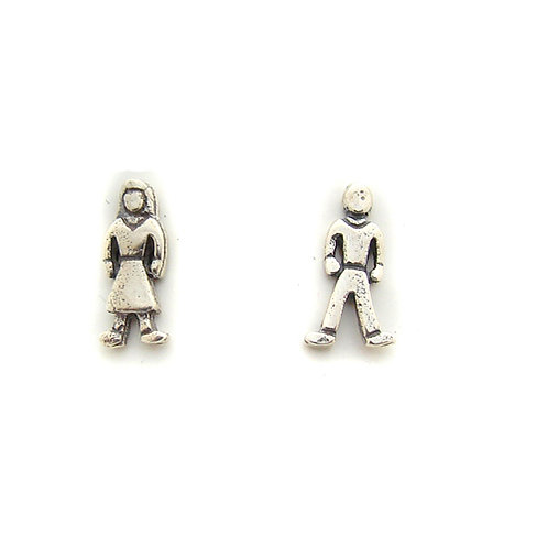 Boy Girl Stud Earring