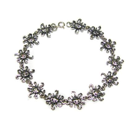 Sun Sterling Silver Bracelet 542041