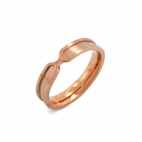 Rose Gold Ring (4mm) 81-326