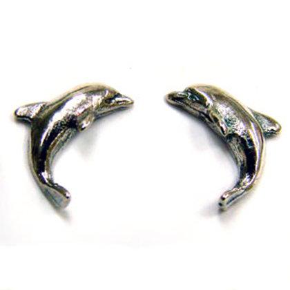 Dolphin Stud Earring Sterling Silver