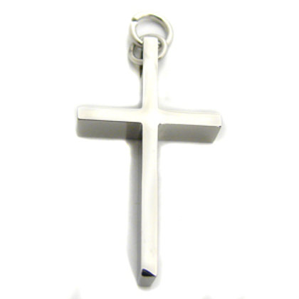 Cross Pendant Stainless Steel 86-281