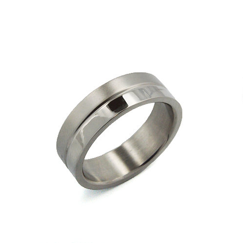 STAINLESS STEEL RING (6mm) 81-293