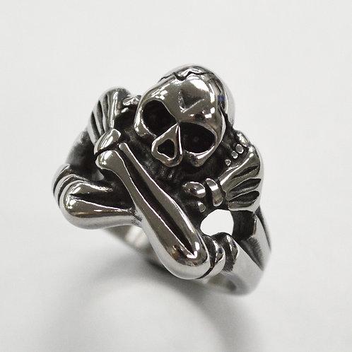 Crossbone Skull Ring 81-1406