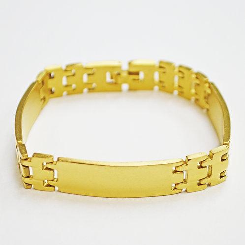 GOLD IP PLATED ID BRACELETS