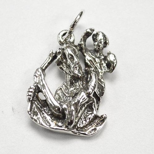 Saint Christopher Pendant Sterling Silver 561188