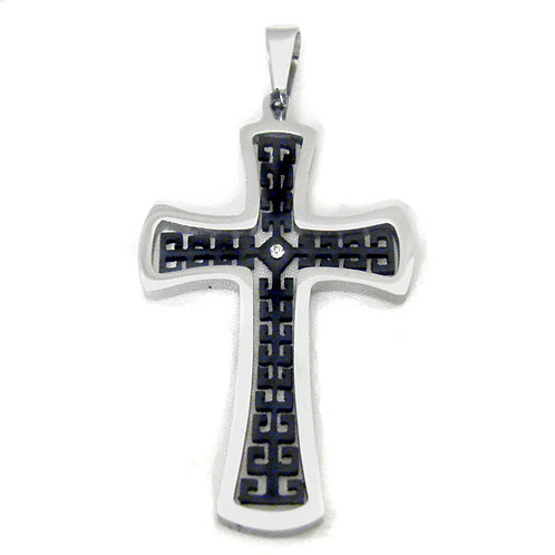 Cross Stainless Steel Pendant 86-964B