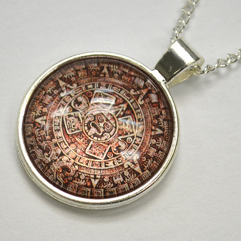 Aztec Calendar Fashion Jewelry FJ-7
