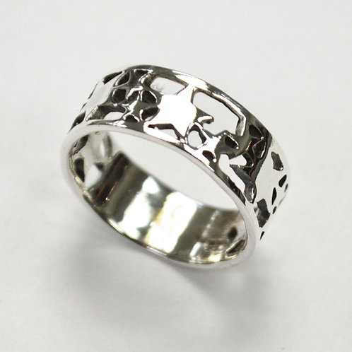 Stars Ring Sterling Silver 511131