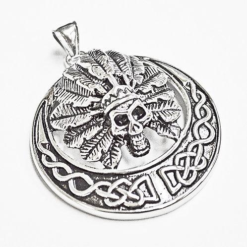 Celtic Skull Pendant