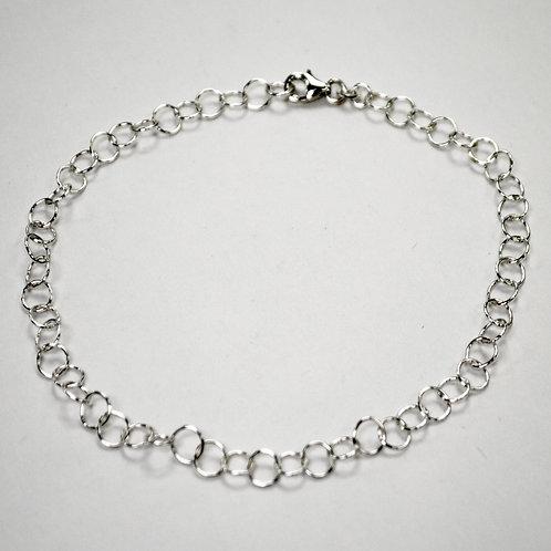Sterling Silver Charm Anklet