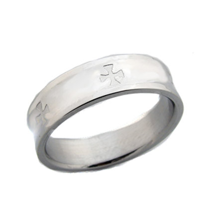 STAINLESS STEEL RING 81-434