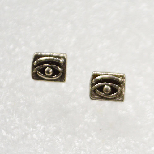 Eye of Horus Stud Earring Sterling Silver 535134