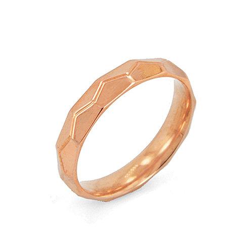 ROSE GOLD RING (4mm) 81-229RG