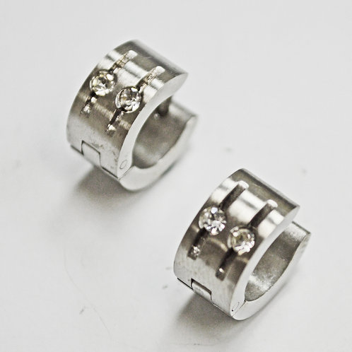 Stainless Steel Huggies Earring