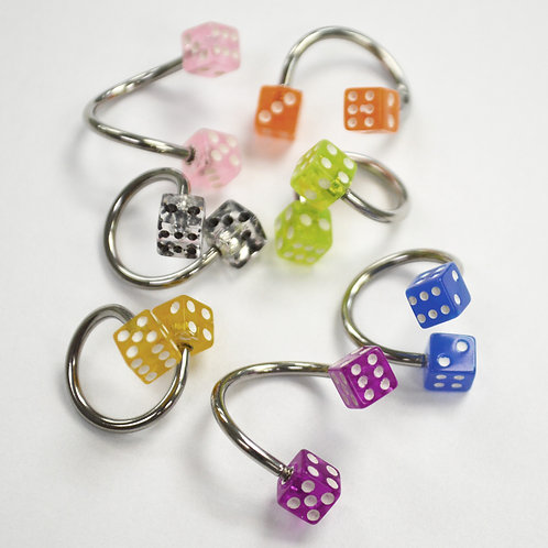 Spiral Belly Ring (2 pcs @ $0.87 each)