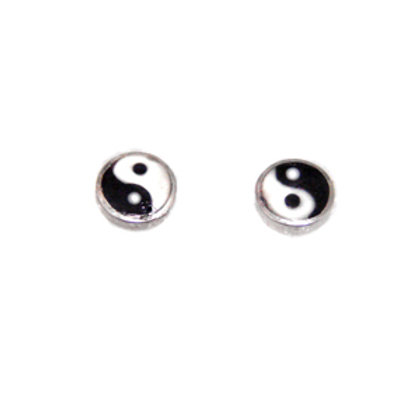 Ying and Yang Stud Earring  535088