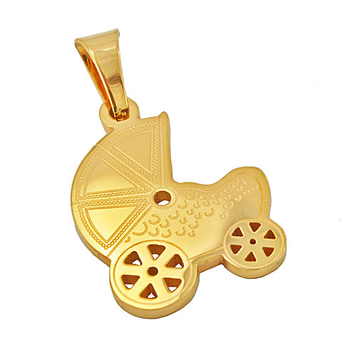 BABY CARRIAGE Pendant (20x27mm)