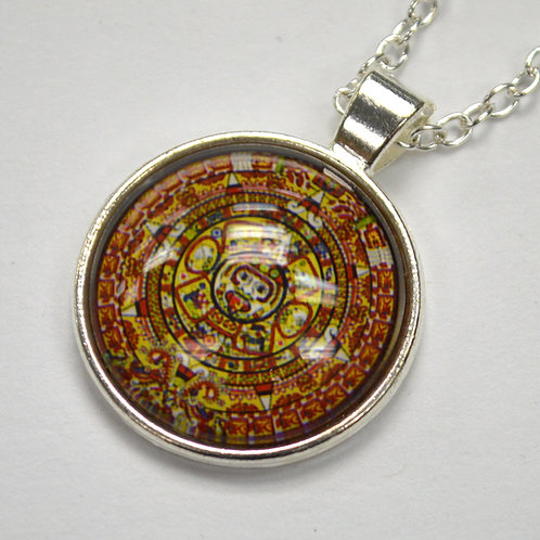 Aztec Calendar Fashion Jewelry FJ-2
