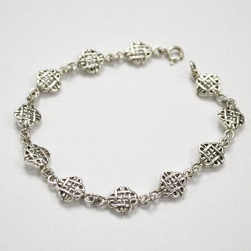 Celtic Design Sterling Silver Bracelet 542004