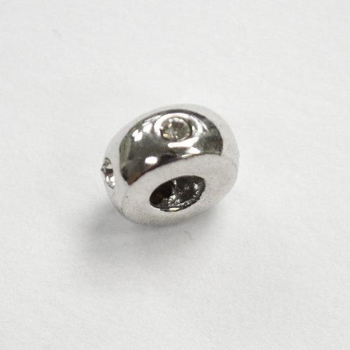 CZ Stone Pendant Sterling Silver 562090
