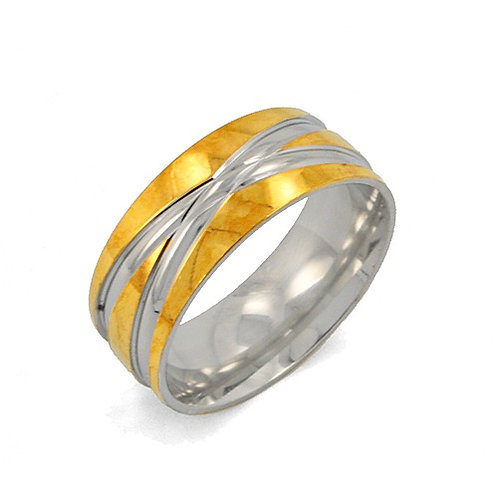 Stainless Steel Ring (8mm) 81-940