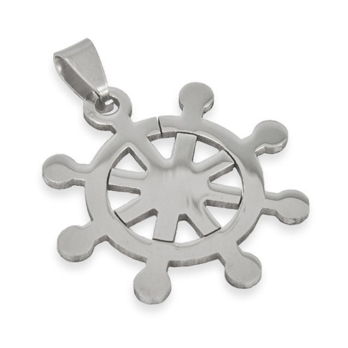 Stainless Steel Pendant (34mm)