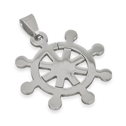 Ship Wheel Pendant 86-626