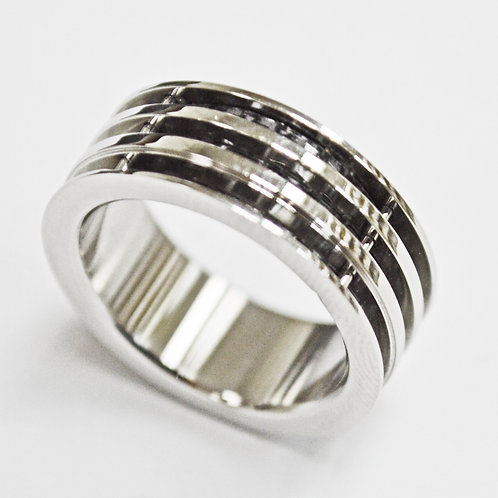 STAINLESS STEEL RING (8mm) 81-1286