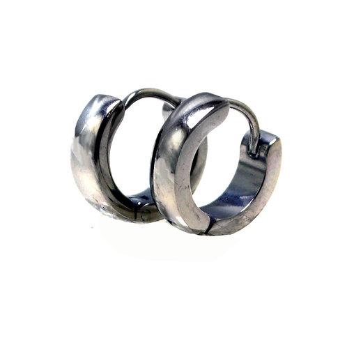 Stainless Steel Huggies Earring 83-585S