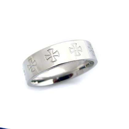 STAINLESS STEEL RING 81-466
