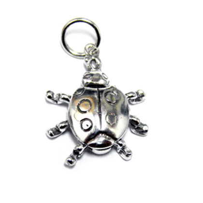 Scarab Pendant Sterling Silver 561119