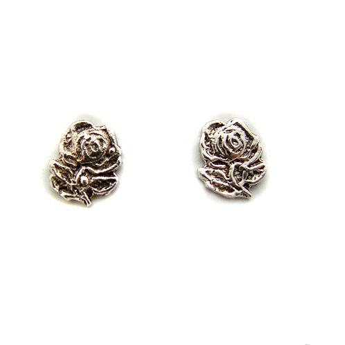 Rose Stud Earring