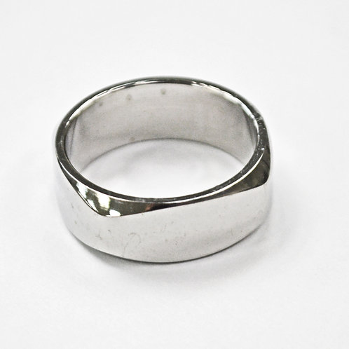 STAINLESS STEEL RING (8mm) 81-368
