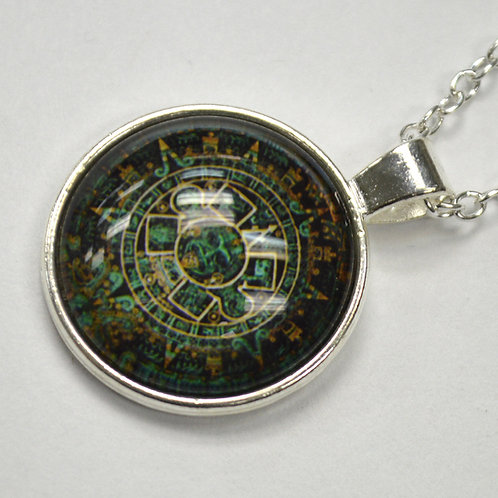Aztec Calendar Fashion Jewelry FJ-4