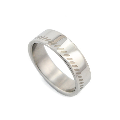 STAINLESS STEEL RING (6mm) 81-242