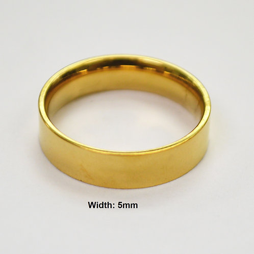 5MM GOLD FLAT BAND RING 81-827-5
