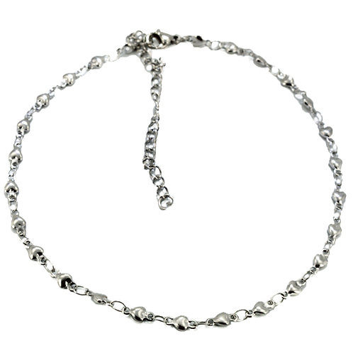 TINY CONNECT HEART Anklet  82-166