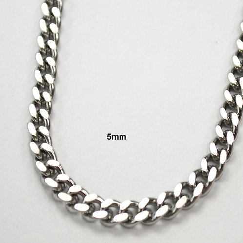 5mm Cuban Stainless Steel Chain 85-239-5