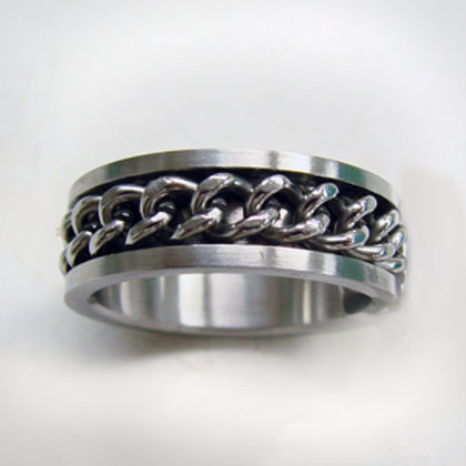 Spinner Ring Stainless Steel (8mm) 81-371