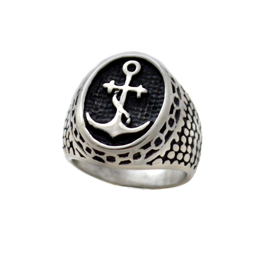 Anchor Stainless Steel Ring 81-1177